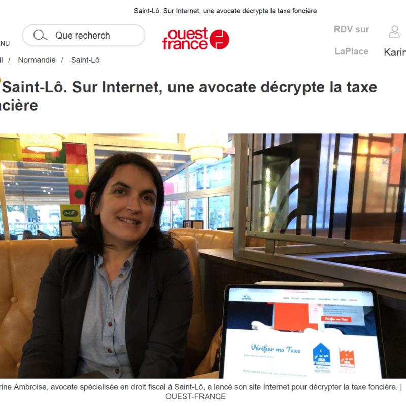 Article Ouest France Ouverture du site JVMTF