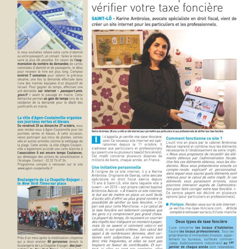Un site internet pour vérifier sa taxe foncière !